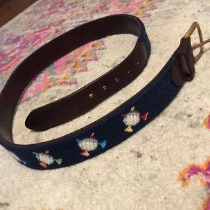 Other - Needlepoint Golf belt